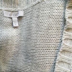 dELiA*s Sweaters - Delia's cropped sweater cardigan